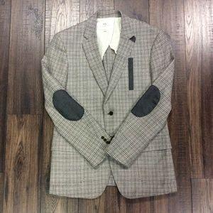 W.R.K 100% Wool Blazer w/ Elbow Patches